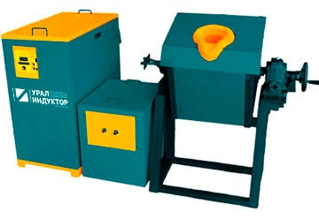 Индукционные плавильные транзисторные печи от 5 кг
