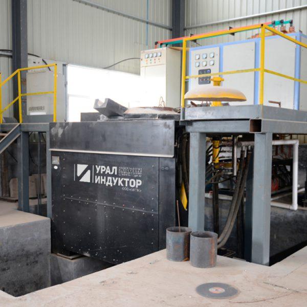 Индукционная тиристорная печь УИ-1Т-500А
