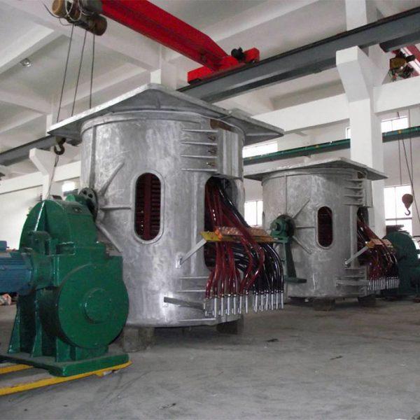 Индукционная тиристорная печь УИ-2T-1200