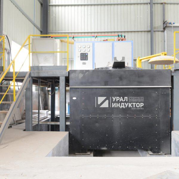 Индукционная тиристорная печь УИ-3Т-1500М