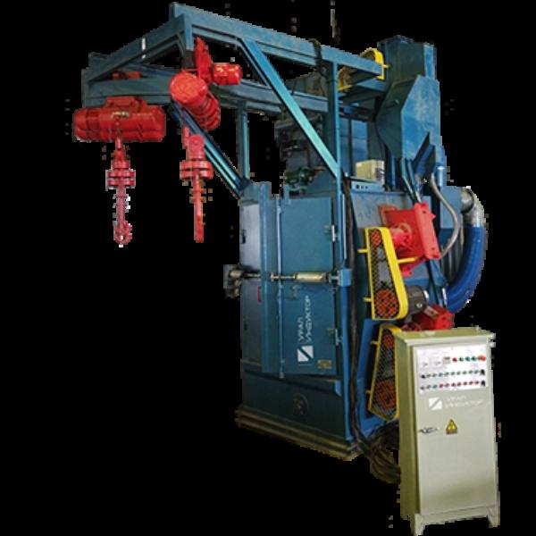 Дробеметная установка кранового типа УИД-376E