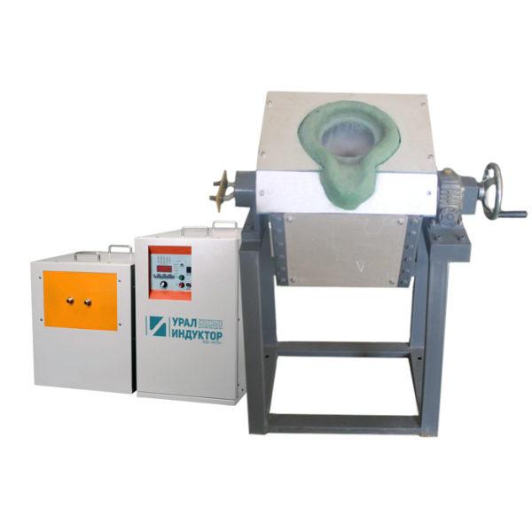 Индукционная транзисторная печь УИ-70п
