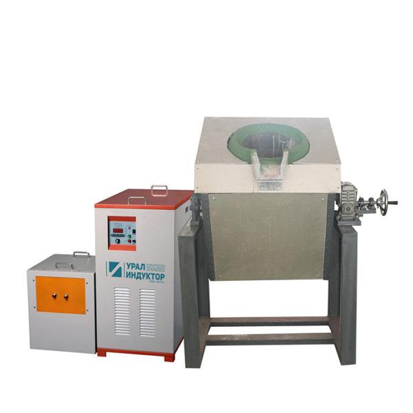 Индукционная транзисторная печь УИ-90п