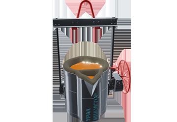 Сталеразливочные ковши чайникового типа