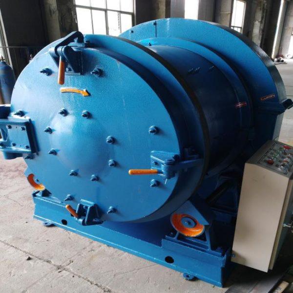 Дробеметная установка галтовочная барабанного типа УИД-3110