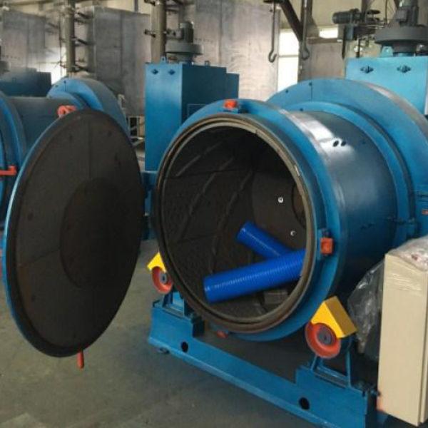 Дробеметная установка галтовочная барабанного типа УИД-3113